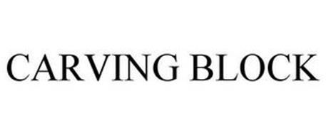 CARVING BLOCK