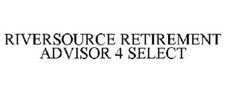RIVERSOURCE RETIREMENT ADVISOR 4 SELECT