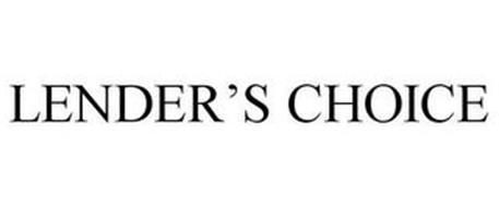 LENDER'S CHOICE