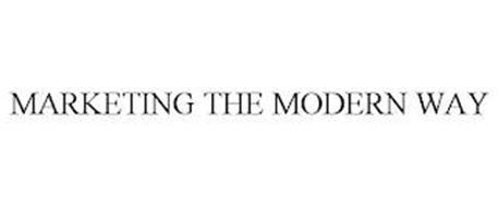 MARKETING THE MODERN WAY