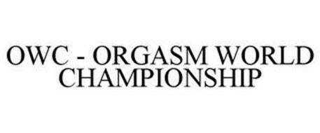 OWC ORGASM WORLD CHAMPIONSHIP Trademark of AMERMONT