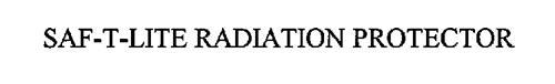 SAF-T-LITE RADIATION PROTECTOR