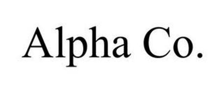 ALPHA CO.