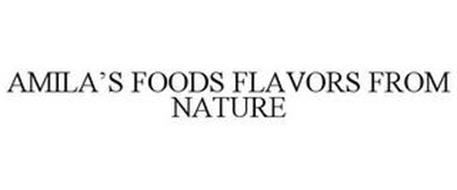 AMILA'S FOODS FLAVORS FROM NATURE