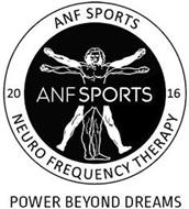 ANF SPORTS 20 ANF SPORTS 16 NEURO FREQUENCY THERAPY POWER BEYOND DREAMS