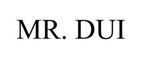 MR. DUI