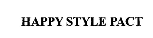 HAPPY STYLE PACT