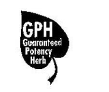 GPH GUARANTEED POTENCY HERB