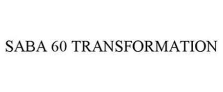 SABA 60 TRANSFORMATION