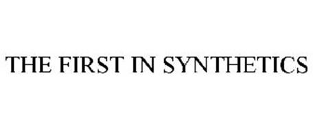 THE FIRST IN SYNTHETICS