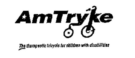 AMTRYKE THE THERAPEUTIC TRICYCLE FOR CHILDREN WITH DISABILITIES