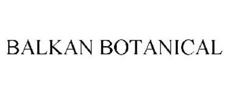 BALKAN BOTANICAL