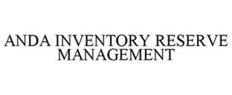 ANDA INVENTORY RESERVE MANAGEMENT