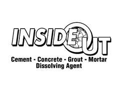 INSIDE OUT CEMENT - CONCRETE - GROUT - MORTAR DISSOLVING AGENT