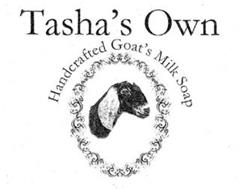 TASHA'S OWN HANDCRAFTED GOAT'S MILK SOAP