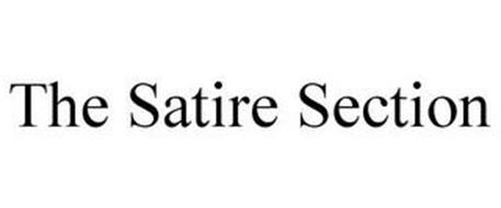 THE SATIRE SECTION