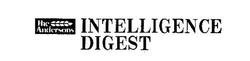 THE ANDERSONS INTELLIGENCE DIGEST
