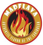MADFLAVA AUTHENTIC FLAVOR OF THE CARIBBEAN