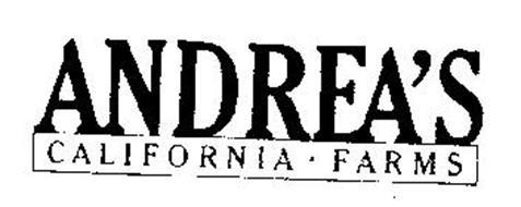 ANDREA'S CALIFORNIA FARM