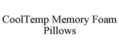COOLTEMP MEMORY FOAM PILLOWS
