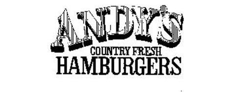 ANDY'S COUNTRY FRESH HAMBURGERS