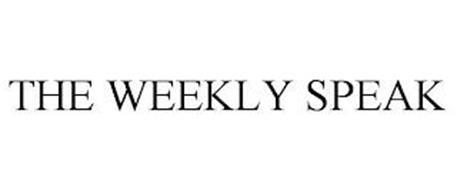THE WEEKLY SPEAK