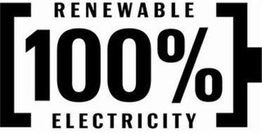 100% RENEWABLE ELECTRICITY