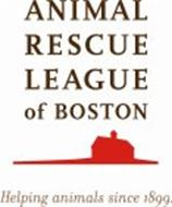 ANIMAL RESCUE LEAGUE OF BOSTON HELPING ANIMALS SINCE 1899.