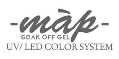 MAP SOAK OFF GEL UV/LED COLOR SYSTEM