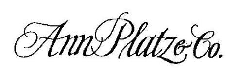 ANN PLATZ & CO.