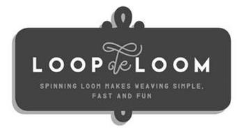 LOOPDELOOM SPINNING LOOM MAKES WEAVING SIMPLE, FAST AND FUN