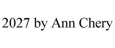 2027 BY ANN CHERY