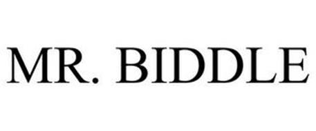 MR. BIDDLE