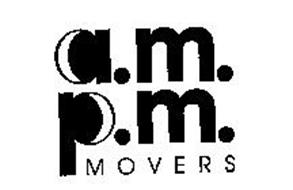 A.M. P.M. MOVERS