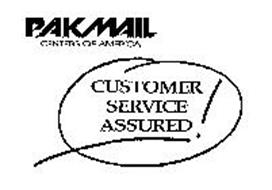 PAKMAIL CENTERS OF AMERICA CUSTOMER SERVICE ASSURED!