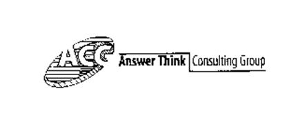 ACG ANSWER THINK CONSULTING GROUP