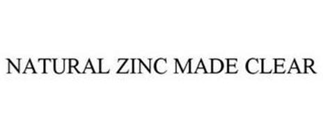 NATURAL ZINC MADE CLEAR