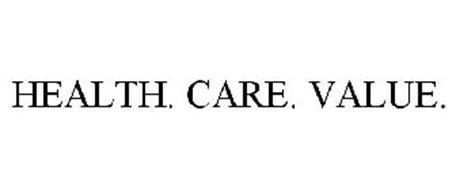HEALTH. CARE. VALUE.