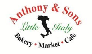 ANTHONY & SONS LITTLE ITALY BAKERY MARKET CAFE