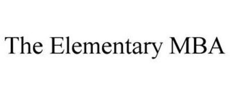 THE ELEMENTARY MBA