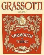 GRASSOTTI TORINO TG PER ASPERA AD ASTRA VERMOUTH DI TORINO PRODUCT OF ITALY