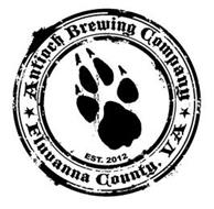 ANTIOCH BREWING COMPANY FLUVANNA COUNTY, VA EST. 2012