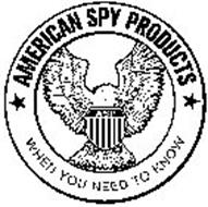 AMERICAN SPY PRODUCTS WHEN YOU NEED TO KNOW ASP
