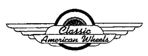 Classic american wheels trademark of antrobius robert a for American classic logo