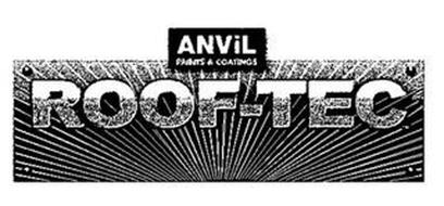 ANVIL PAINTS & COATINGS ROOF-TEC