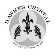 HAWKES CRYSTAL HANDCUT IN TIFFIN OH USA