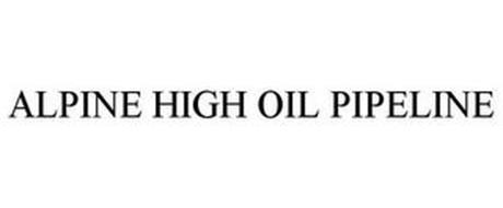 ALPINE HIGH OIL PIPELINE