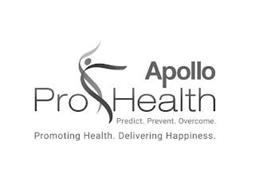 APOLLO PRO HEALTH PREDICT. PREVENT. OVERCOME. PROMOTING HEALTH. DELIVERING HAPPINESS.
