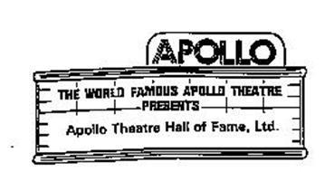 APOLLO THE WORLD FAMOUS APOLLO THEATRE PRESENTS APOLLO THEATRE HALL OF FAME, LTD.