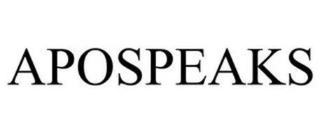APOSPEAKS